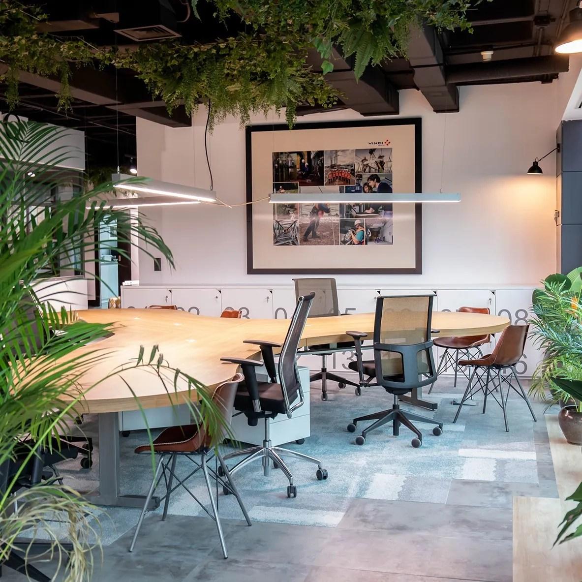 oficinas Vinci, gestión del espacio
