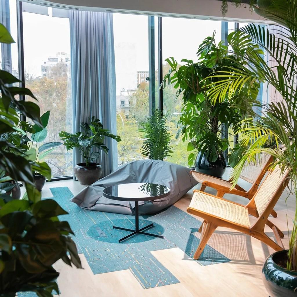 Oficinas Vinci, oficinas verdes, oficinas sustentables, gestión del espacio, Ivory