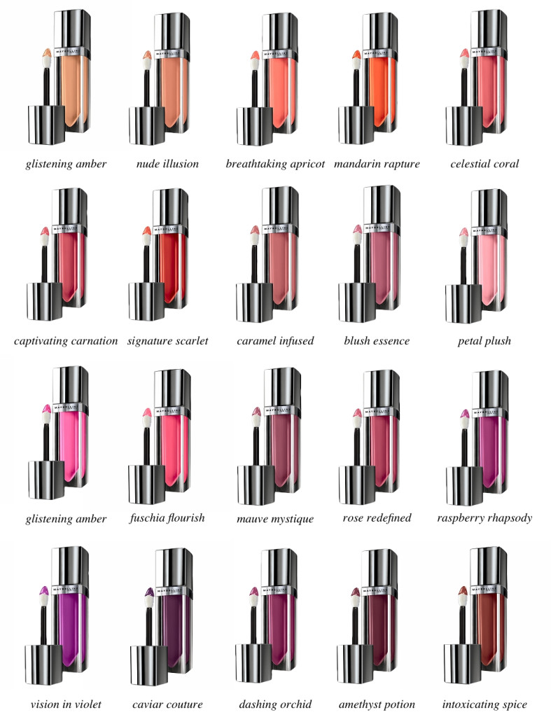 All Shades Of Kylie Lip Kits: Maybelline Color Elixirs In Blush Essence And Signature