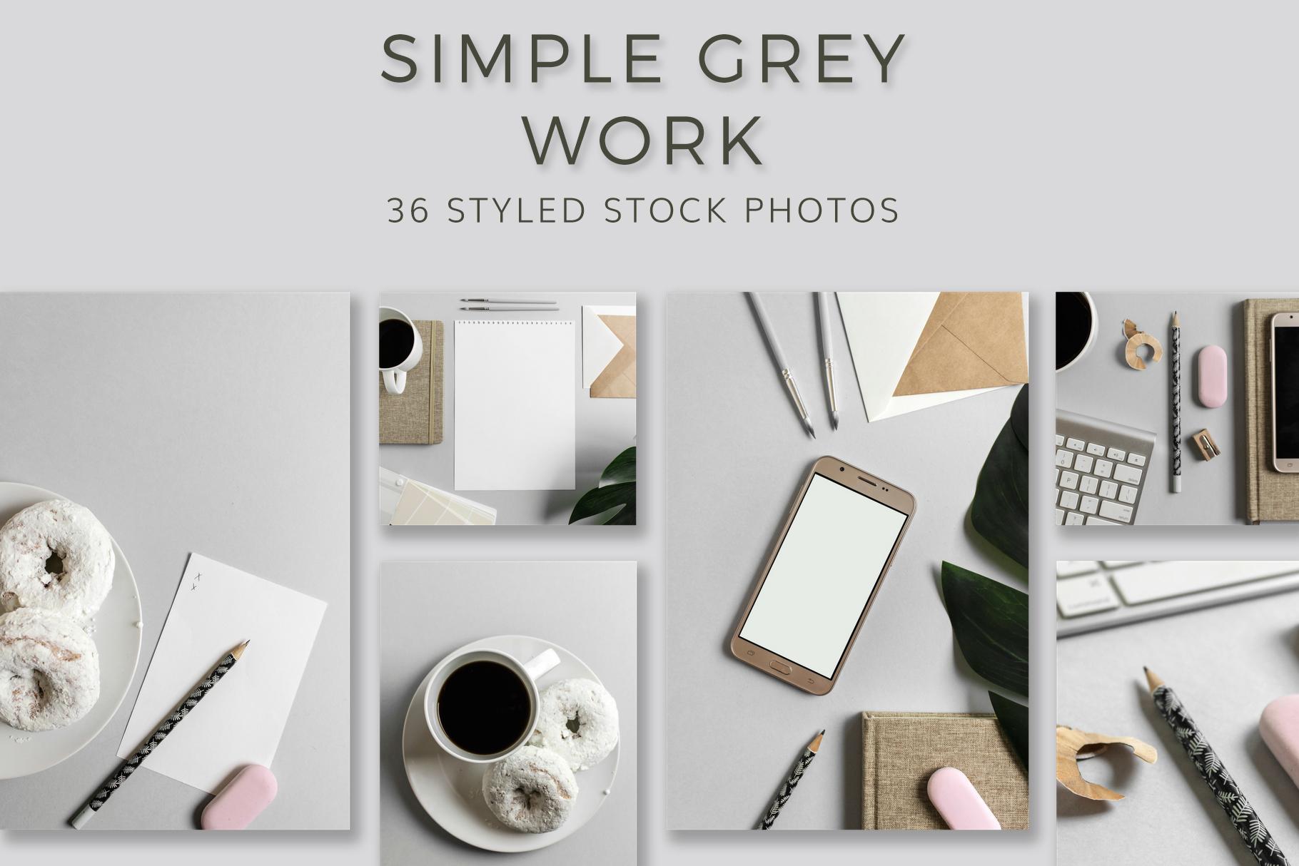 simple grey work 36