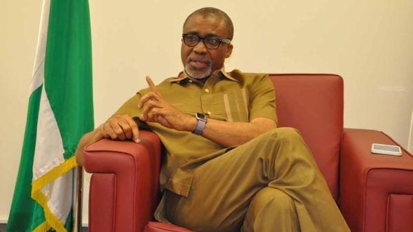 Senator Abaribe Kicks Against Nationwide Lockdown