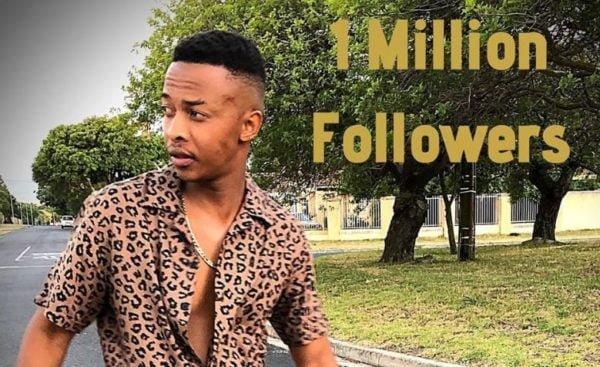 Oros Mampofu hits 1 million followers