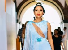 Check Out Nomzamo Mbatha BET Awards look