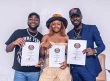 Davido Officially signs Liya to DMW and 30BG