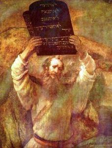 רמברנדט - משה והלוחות