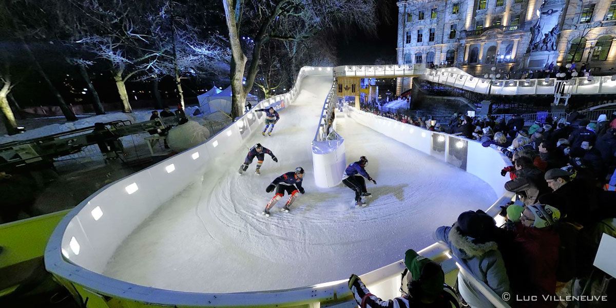 360 Panoramas Of The Redbull Crashed Ice 2012 Quebec Qc Canada