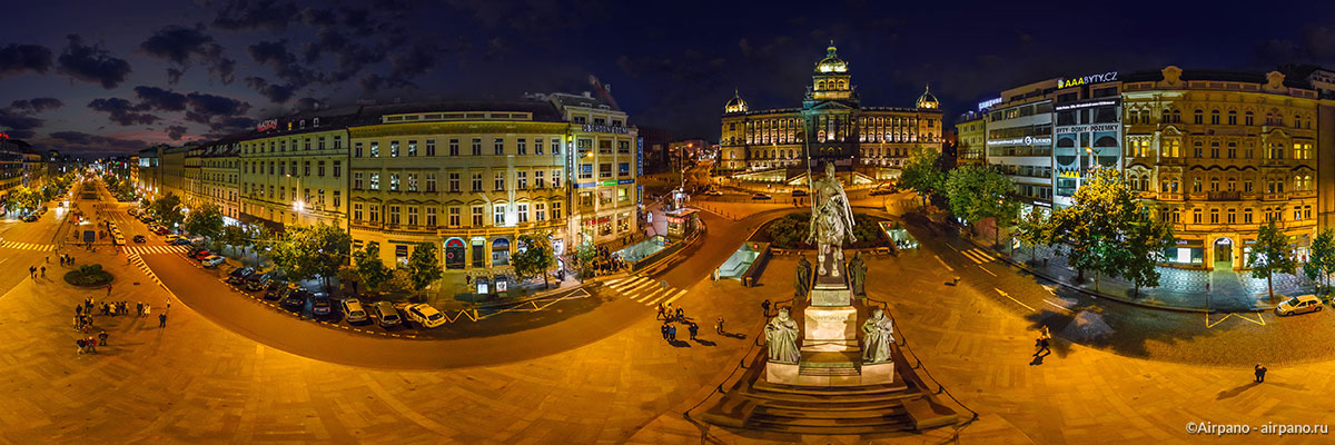 Aerial 360 Panorama Of Prague By Airpano 10