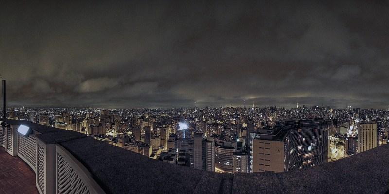 Noite em São Paulo :: Edifício Itália - SP/Brasil - 360°