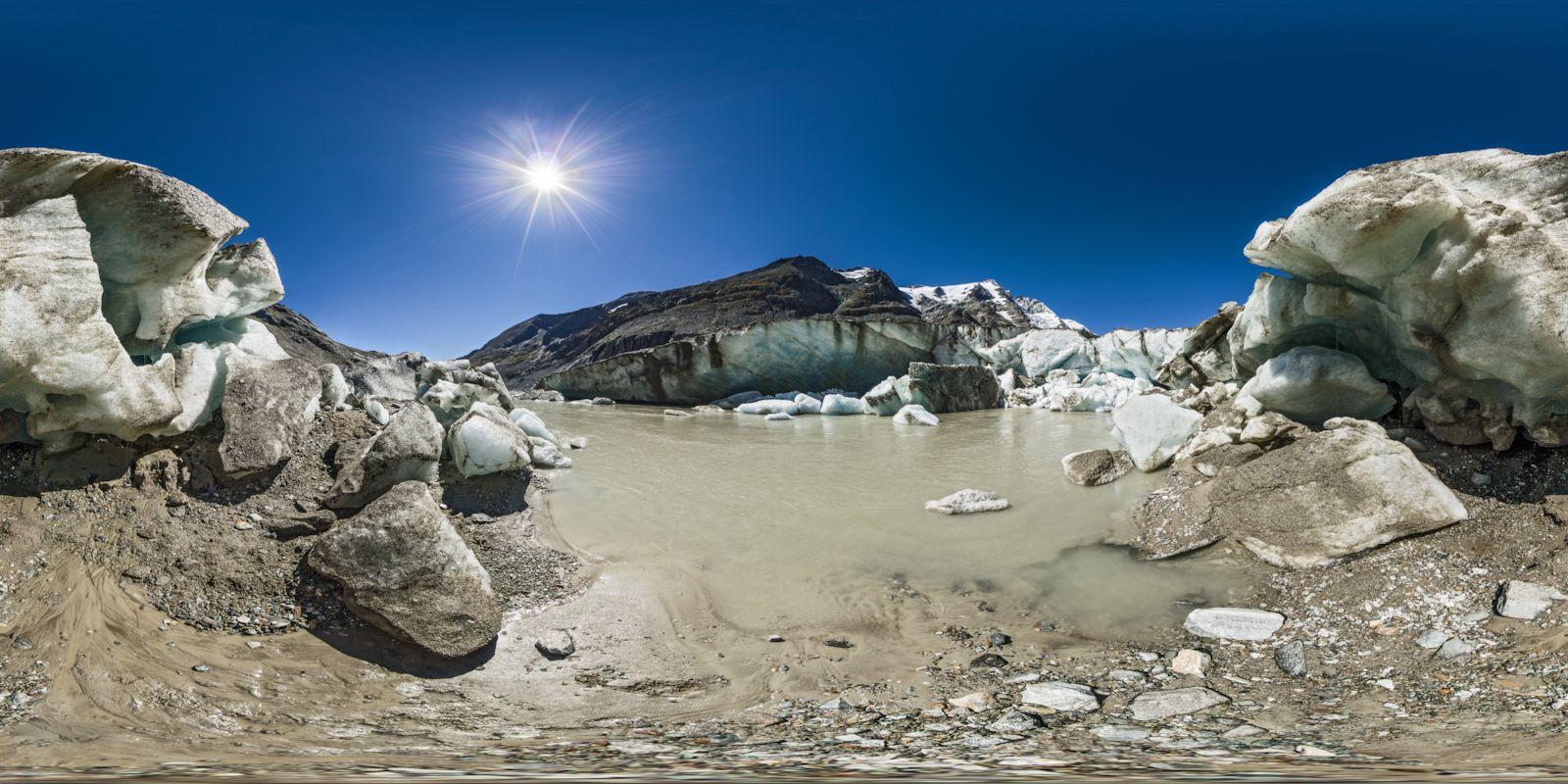 Pasterze Glacier Mouth