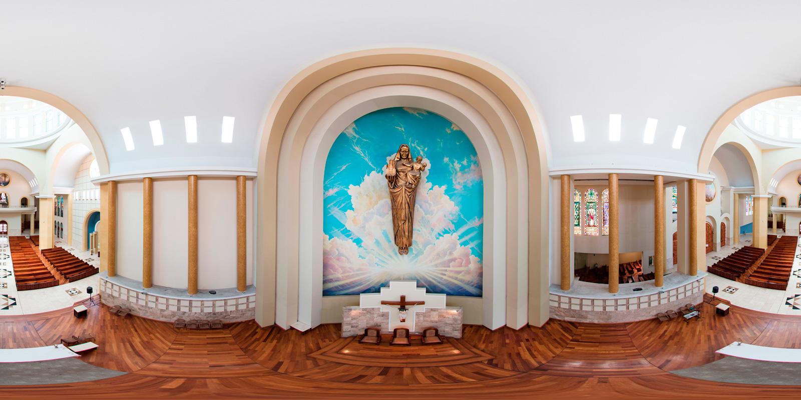 Catedral, Ambato, Nikon D810, Pole3, Church