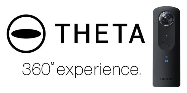 Ricoh - Theta 360 logo