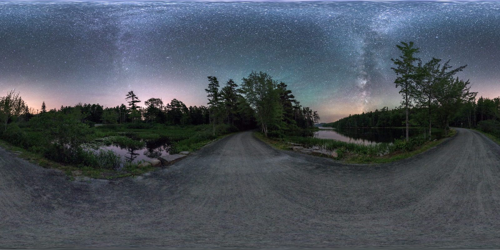Carriage Road At Eagle Lake