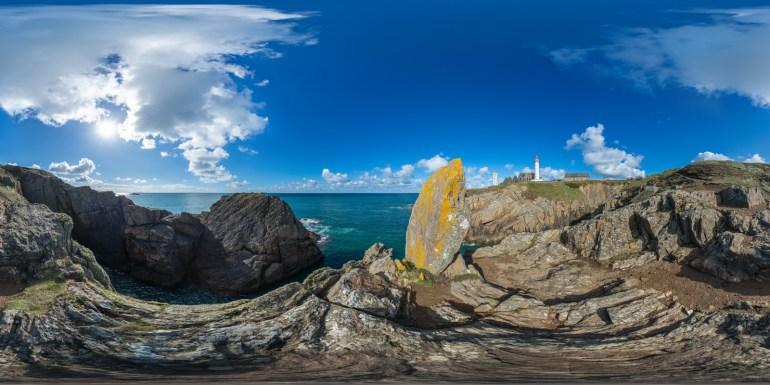Pointe de Saint-Mathieu – Plougonvelin | Kugelpanorama #5408 | 03.2016