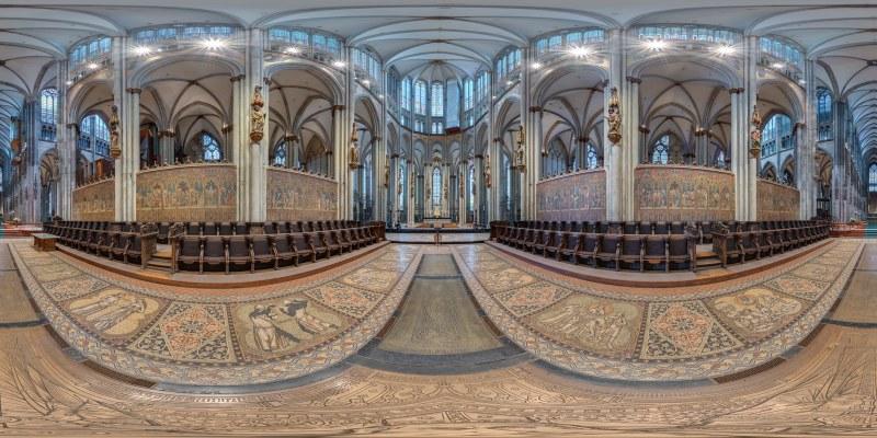 Chorgestühl im Kölner Dom