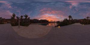 Amanecer en Resort de Cabo Verde