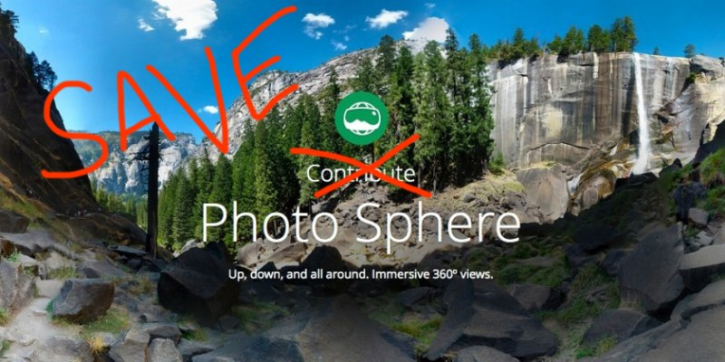 Save Google Photosphere