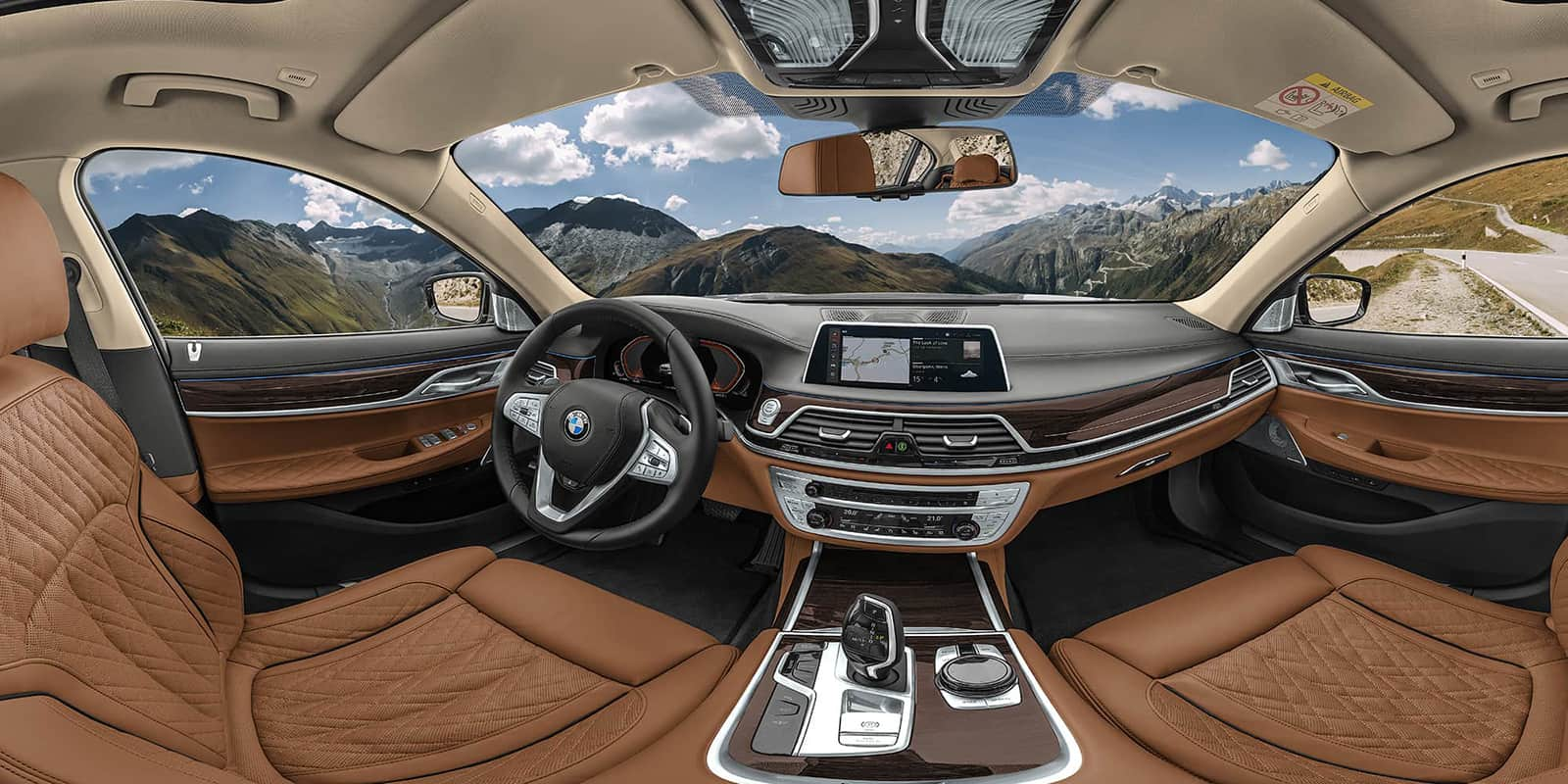 Bmw 2019 7 Series Interior View 360 Vr Panorama Ivrpa