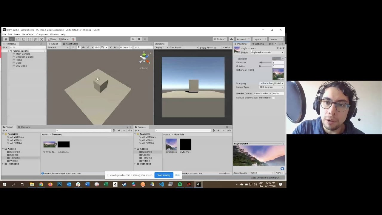Introduction to Creating 360 Apps in Unity | Part 2