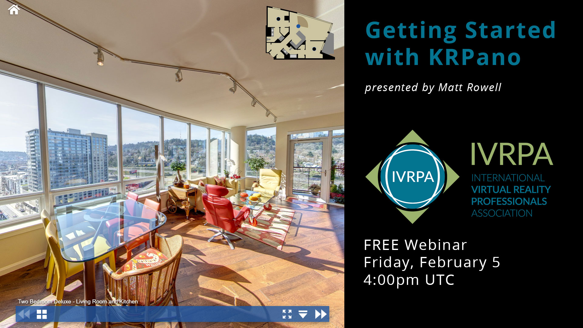 Learn How to Build Custom Virtual Tours with KRPano