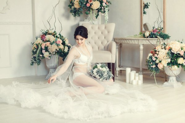 5 правил будуарной съёмки в день свадьбы для невесты