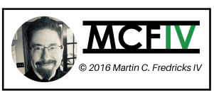 Copyright graphic - Martin C. Fredricks IV 2016, black
