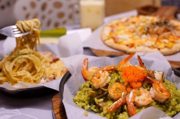 JT燉飯  一中商圈平價義式餐廳推薦,200元就有多種義大利麵、燉飯、pizza可挑!