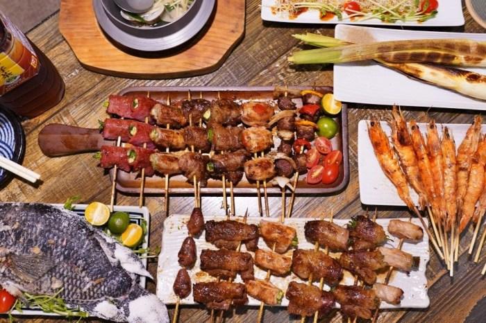 火奴魯魯山西店 |台中北區這家串燒好平價,每串最低只要25元,及炸物、湯品、烤物,晚餐宵夜聚餐首選!
