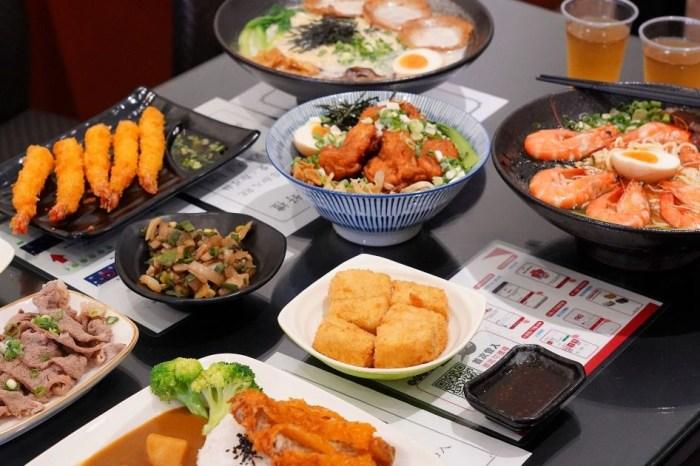 大勝食堂  台中大里平價拉麵丼飯90元起,必點每日限量的6隻蝦醬油海老拉麵!11