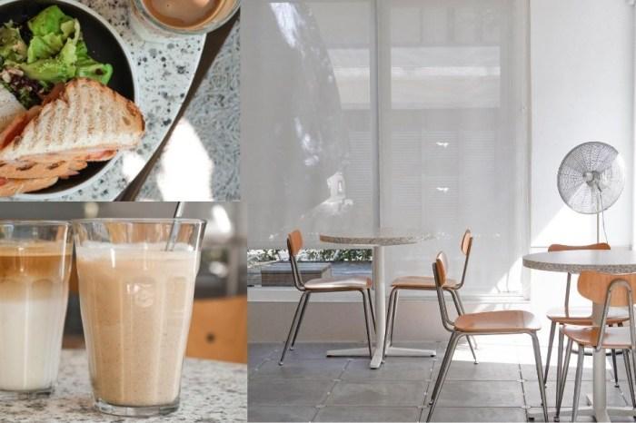 Solidbean Coffee Roasters  台中精明商圈純白系咖啡館,不限時有插座WiFi,文青質感窗景超療癒!