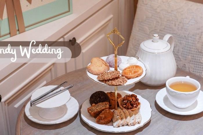 台中喜餅推薦,少女心噴發的TIFFANY藍包裝 Candy Wedding喜餅,訂製專屬的幸福!