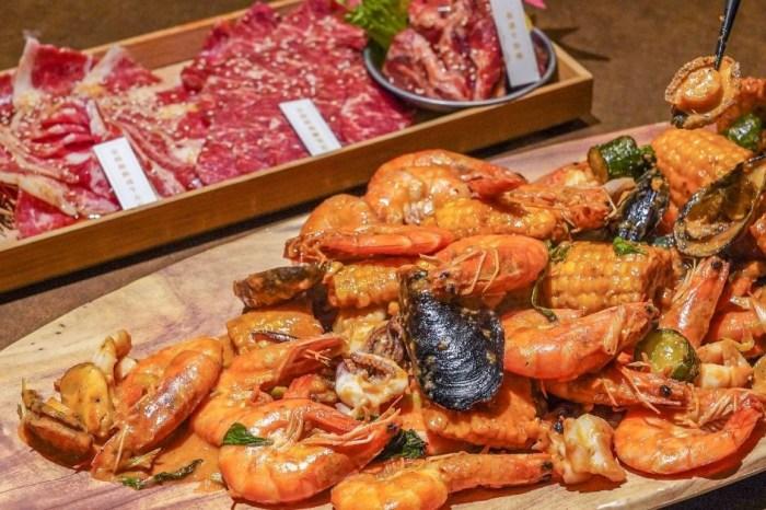 龍門燒肉  台中貨櫃燒肉餐廳!用餐環境內斂有質感,主打濕式冷藏燒肉,還有每日限量海鮮盤~