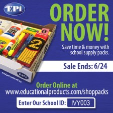 School Supplies on sale now!