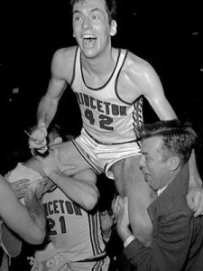 Bill Bradley still owns the top 11 scoring games in Princeton history 49 years after graduating.