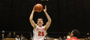 Steven Cook notched 28 points and seven steals in a pull-away victory over Stony Brook. (ivyleaguedigitalnetwork.com)