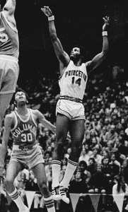 Brian Taylor '73 averaged 24.3 points and 6.0 rebounds in 51 contests for the Tigers.