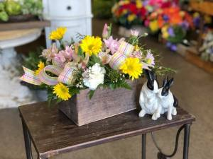 Fresh Flowers & Wine-Easter Edition