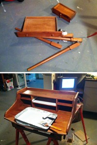 Elegant Writing Desk Plans PDF Woodworking