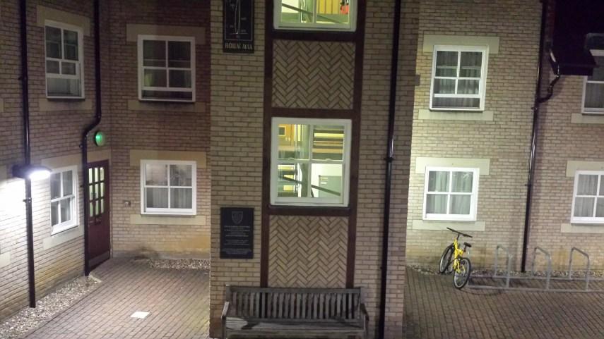 Oxford-window view