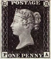 known as the Penny Black, was the world's first postage stamp