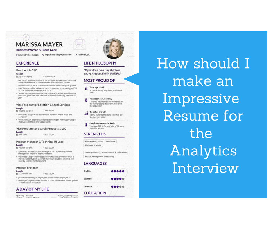 Firstly Congratulations For Having Landed An Analytics Interview! If You  Havenu0027t Got An Interview Call Yet, Donu0027t Worry. With The Right Kind Of CV,  ...