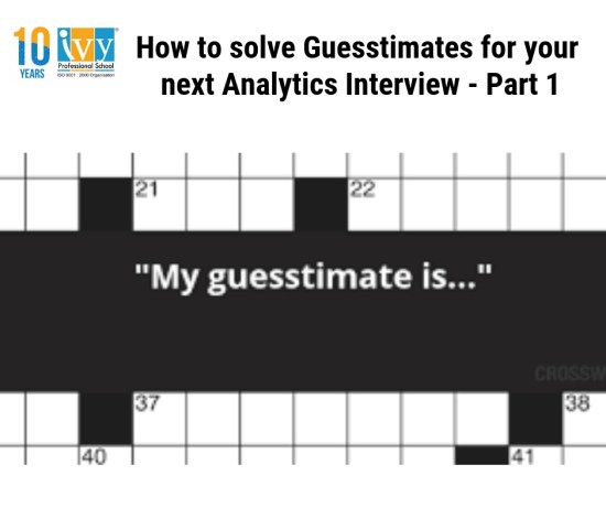 Solving guesstimates
