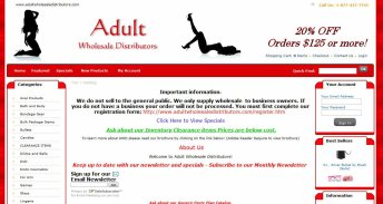 Adult Wholesale Distributors