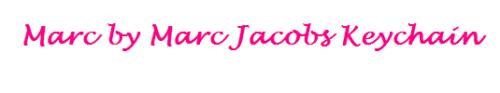marc jacobs keychain