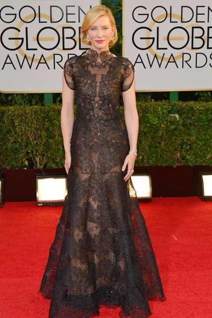 Cate-Blanchett  Armani Privé Couture autumnwinter 2013 gown Chopard jewellery.