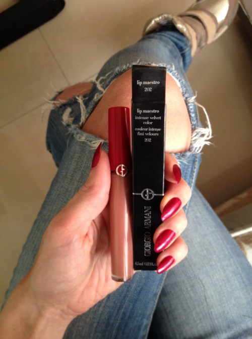 Ivy Review Georgio Armani Lip Maestro
