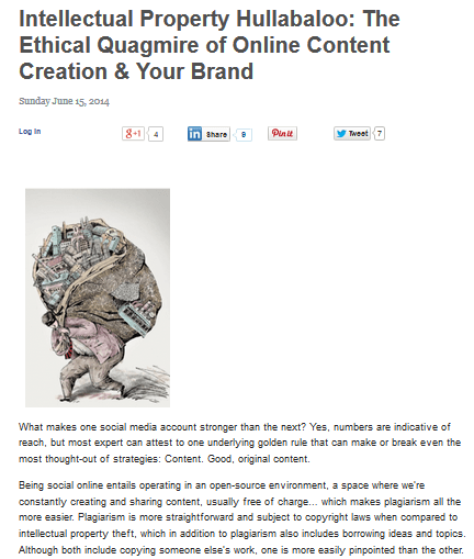"""ellasaurus intellectual property and ethical issues The us patent and trademark office (uspto) defines intellectual property as the  following: """"creations of the mind – creative works or ideas."""