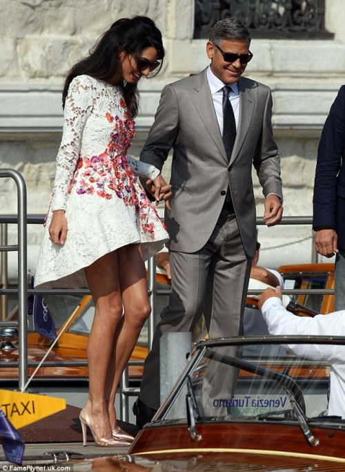 Amal in Giambattista Valli Haute