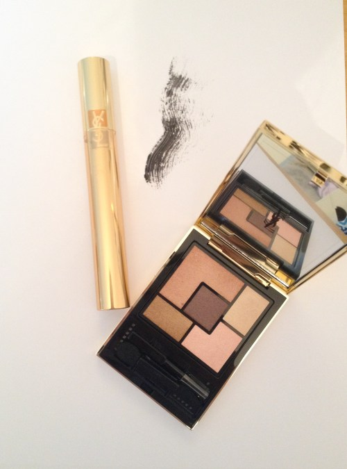 YSL Couture palettes and MASCARA VOLUME EFFET FAUX CILS