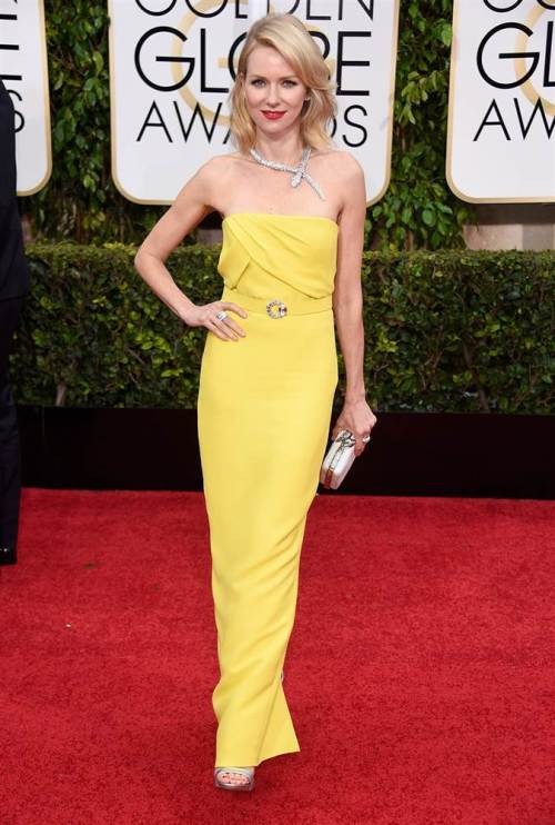 Noami watts golden globes 2015