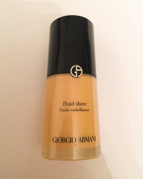 Giorgio armani fluid sheer review ivy says